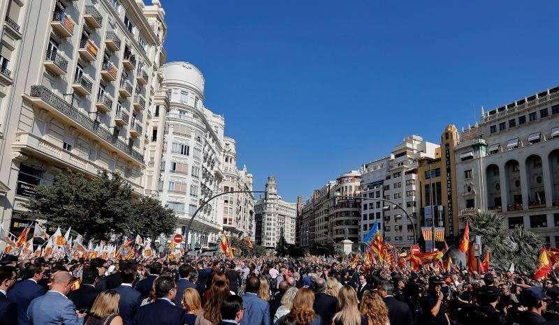 Imagen de archivo del 9 de octubre, Valencia.
