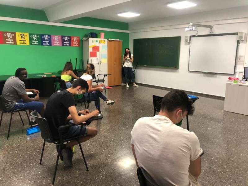 Los alumnos en clase. / EPDA