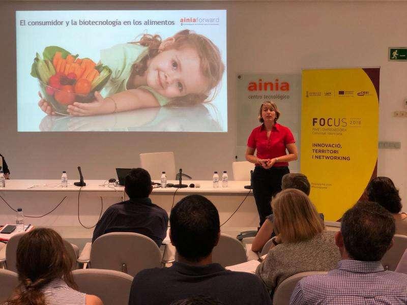 Acto Focus Pyme y Emprendimiento de la provincia de Valencia .