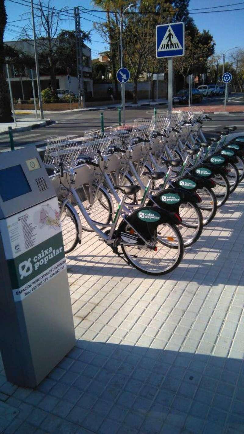 Ejemplo MIBISI servicio bici Horta. /EPDA.