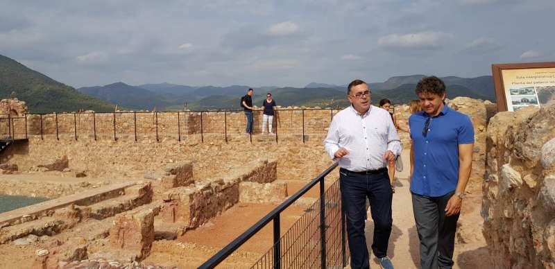 Colomer en el Castillo de Onda