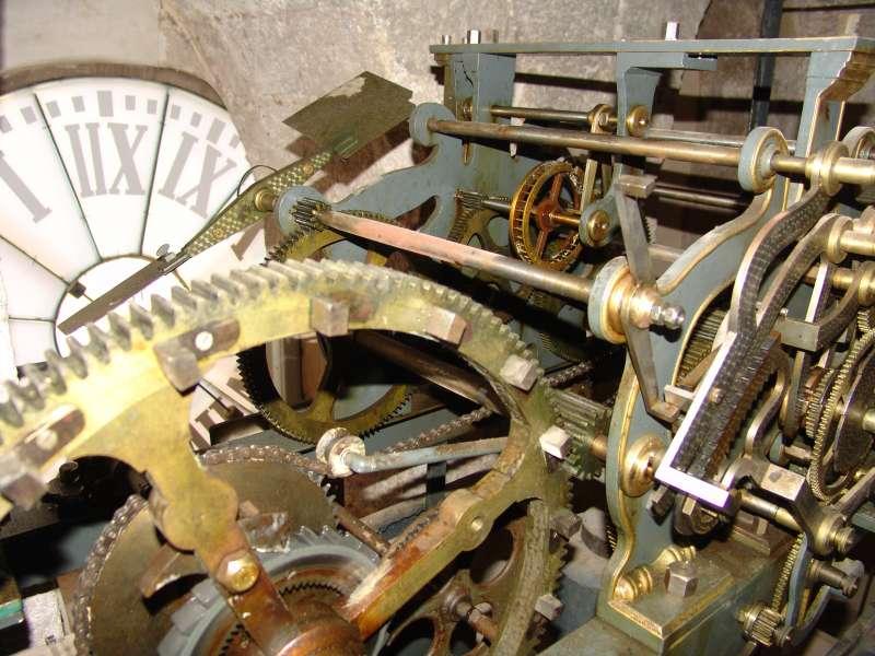 Maquinaria del reloj del campanario de la Catedral de Segorbe