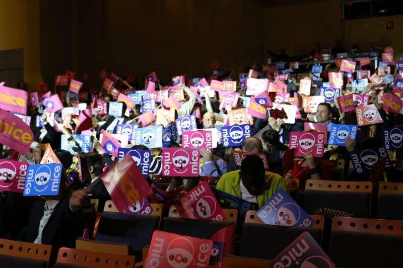Una imatge de la gala. EPDA