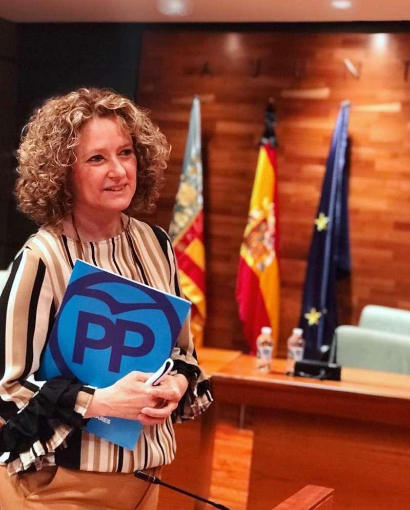Amparo Folgado, en una imagen de archivo. EPDA