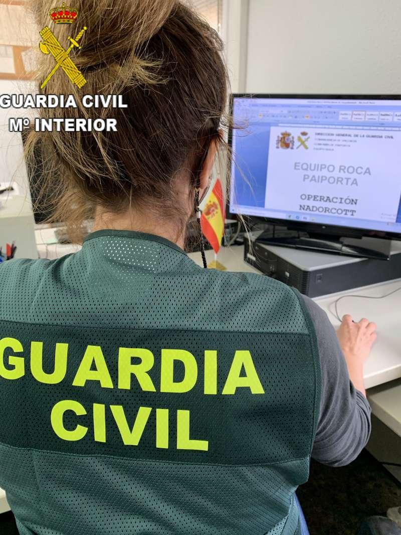 Imagen facilitada por la Guardia Civil.