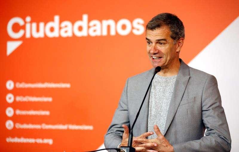 El síndic de Ciudadanos en Les Corts Valencianes, Toni Cantó. EFE/Archivo