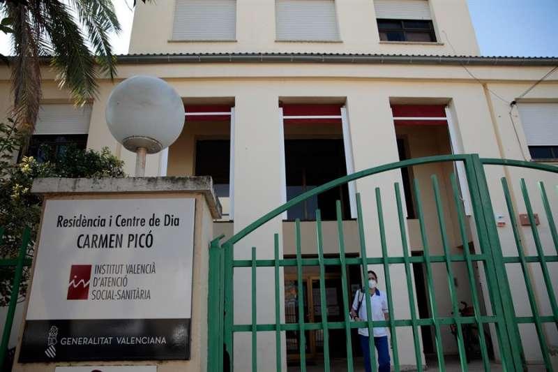 Imagen de archivo de la residencia de ancianos y centro de día Carmen Picó de Alzira (Valencia).EFE/ Biel Aliño/Archivo