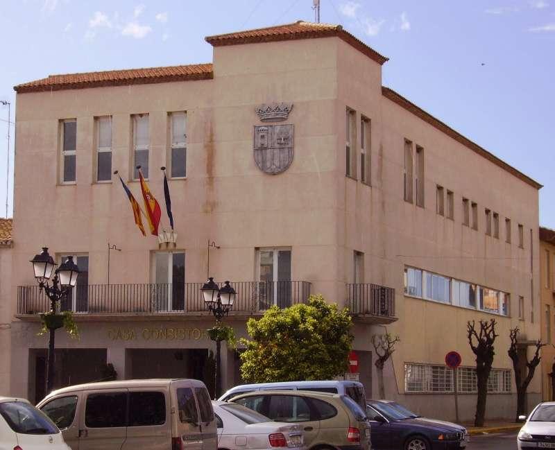 El Ayuntamiento de San Antonio de Benagéber.//EPDA