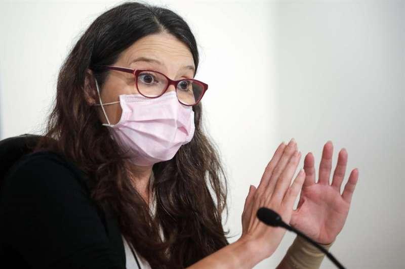 La vicepresidenta y portavoz del Gobierno valenciano, Mónica Oltra. EFE/Ana Escobar/Archivo