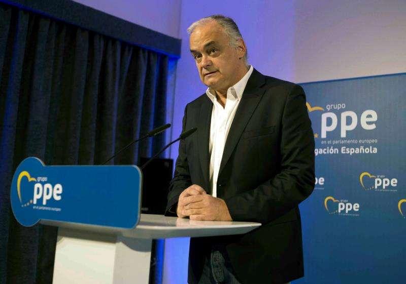 El portavoz del PP en el Parlamento Europeo, Esteban González Pons. EFE/Archivo