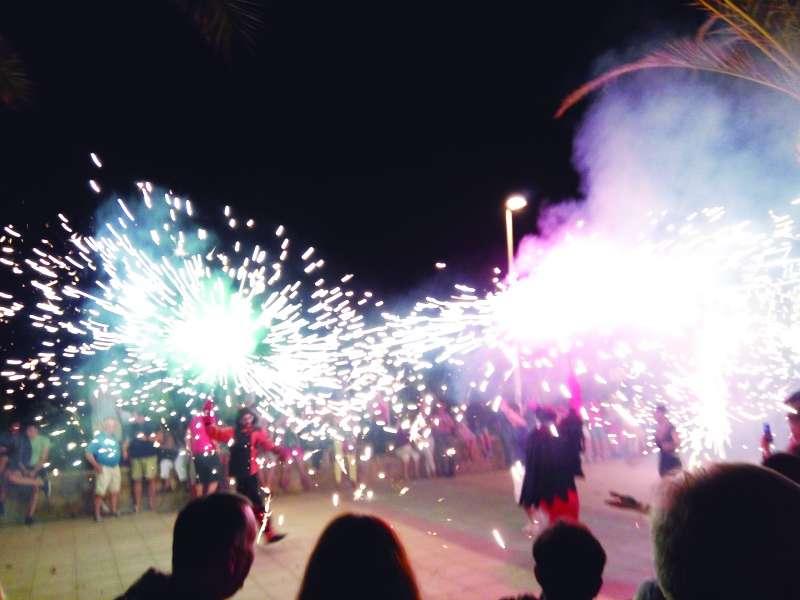 Correfoc de la Noche de San Juan. EPDA