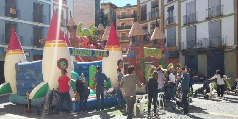 La plaça del Mercat de Xàtiva. EPDA