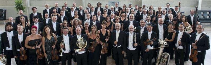 La Orquestra de Valencia. Foto cedida por el Palau de la Música de València