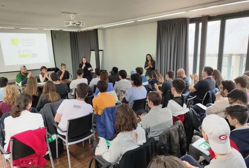 Asamblea del Consell de la Joventut de Valencia. EPDA