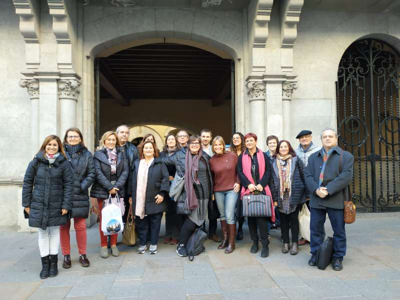 Encuentro en el centro de Girona - EPDA