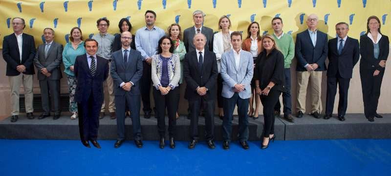 Miembros de la Comisión Ejecutiva Casa de Caridad