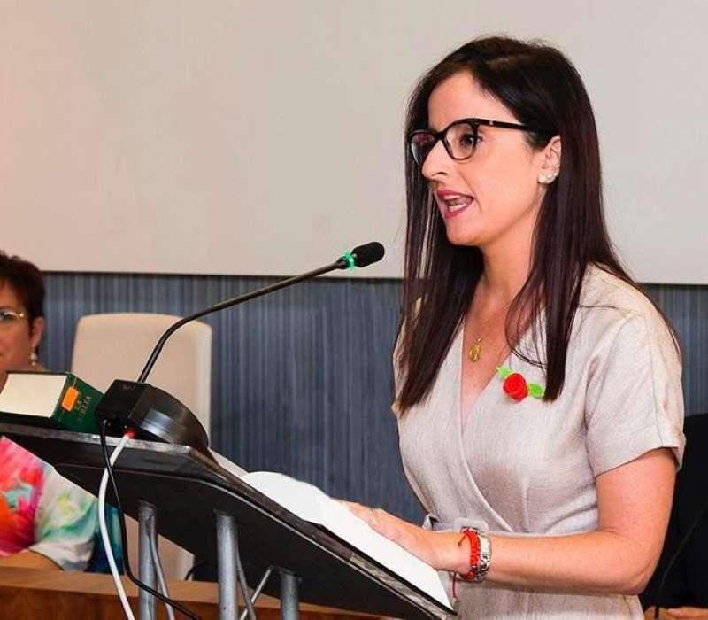 Isabel Esbrí regidora del (PSOE)
