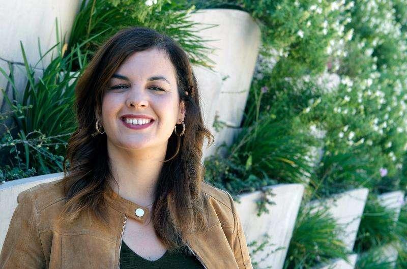 La candidata del PSPV a la alcaldía de València, Sandra Gómez,  EFE/Ana Escobar