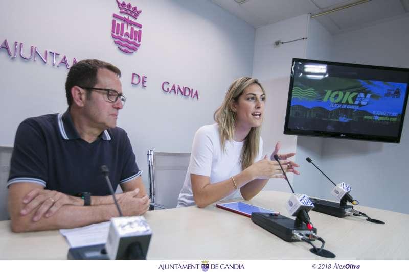 Presentació de la setena edició del 10K nocturn de la platja de Gandia - Memorial Toni Herreros. EPDA
