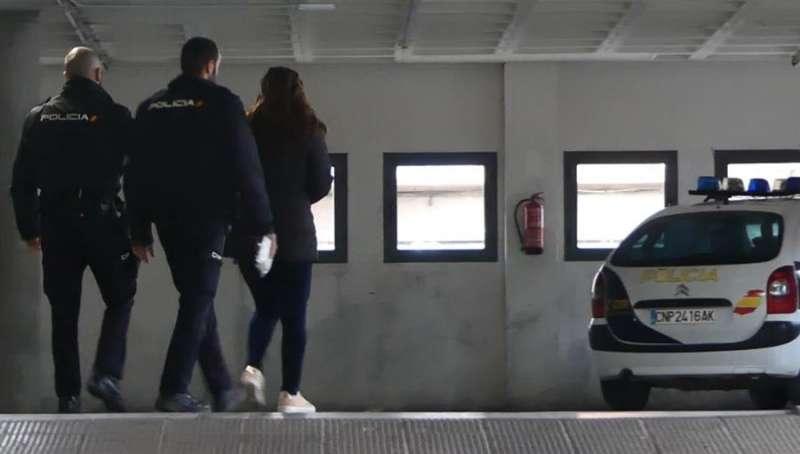 Una imagen de la detenida facilitada por la Policía Nacional. EFE