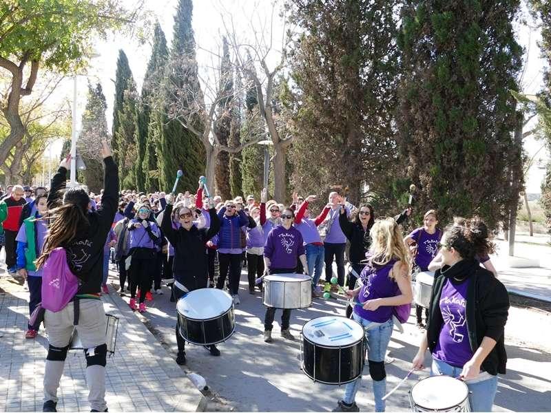 Marcha por la igualdad por las calles de Moncada. EPDA