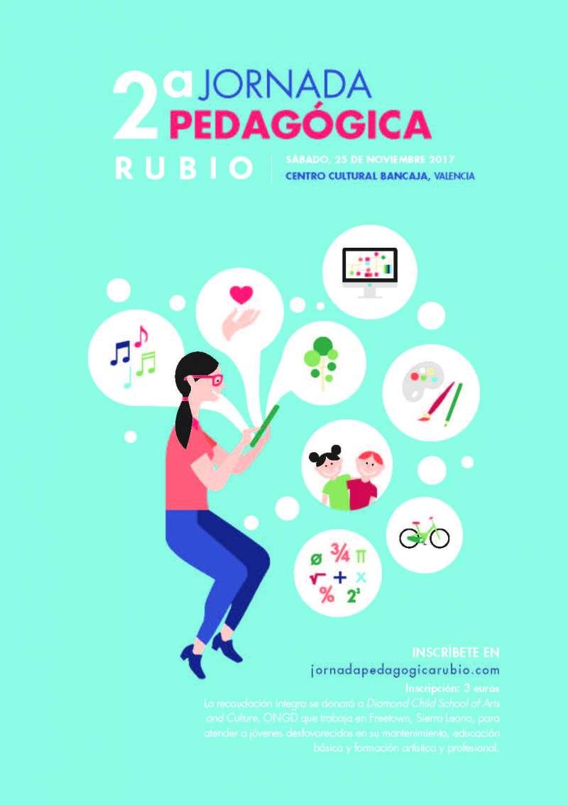 Cartel de la 2ª Jornada Pedagógica.