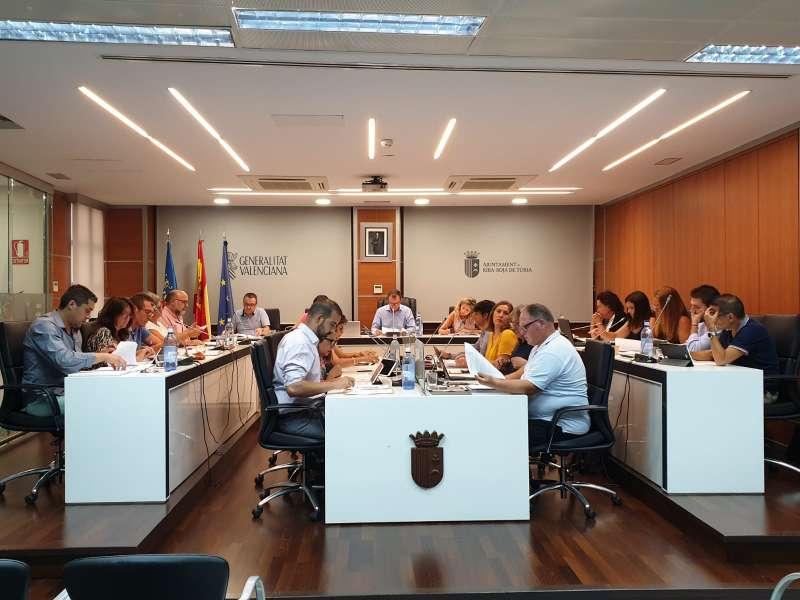 Pleno del Ayuntamiento de Riba-Roja
