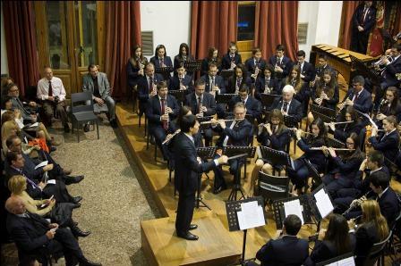 Celebración de Santa Cecilia en Mislata por la Banda Sinfónica del CIM. EPDA
