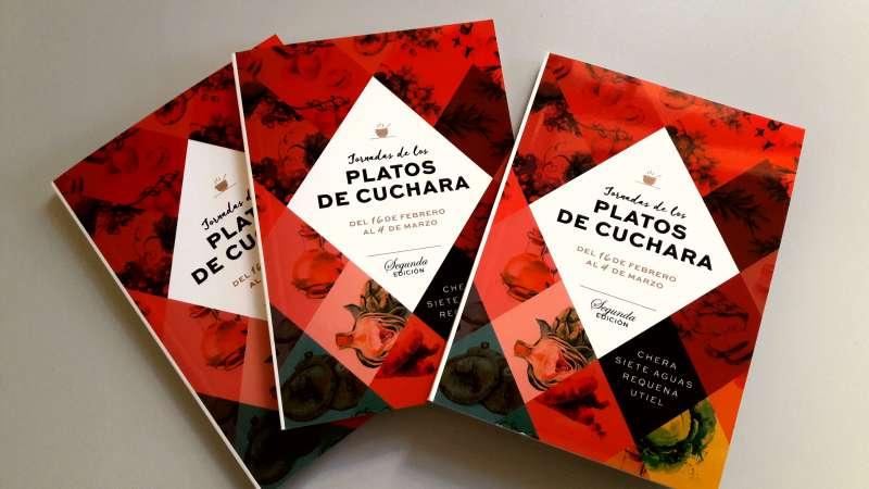 Ejemplares de las segundas Jornadas de los Platos de Cuchara. EPDA
