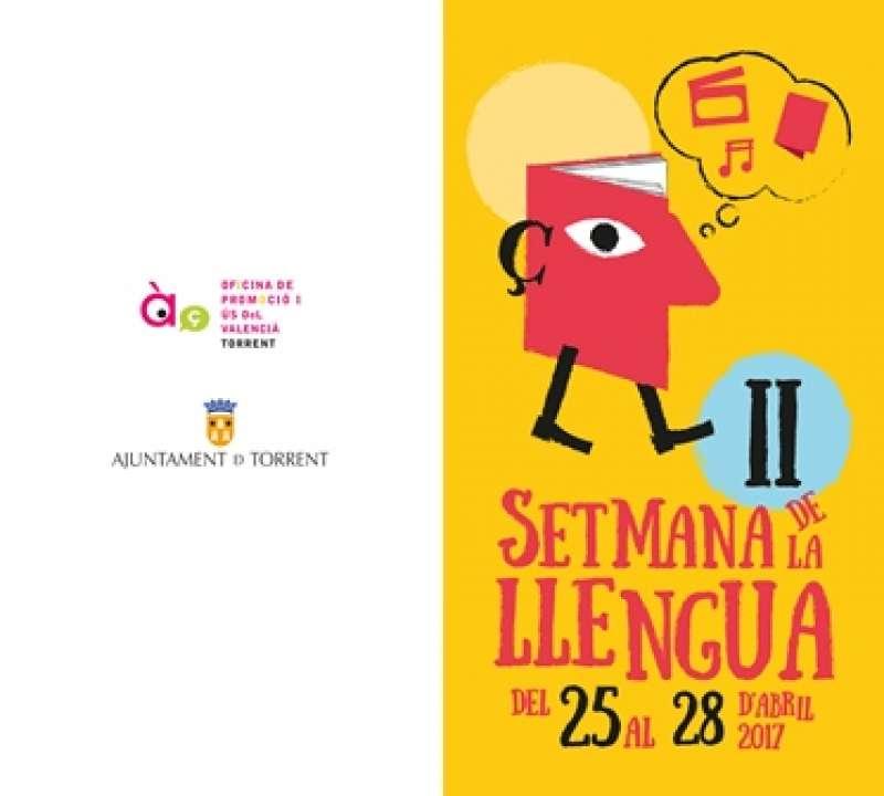 Díptic de la Setmana de la Llengua. EPDA