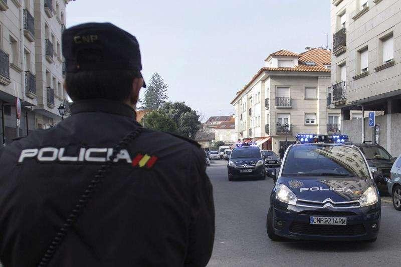 Policía Nacional en una operación. EFE/Archivo