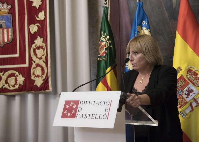 Elena Vicente en diputación de Castellón