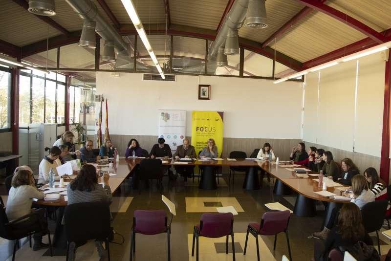 Reunión del comité organizador del primero Focus Pyme./epda