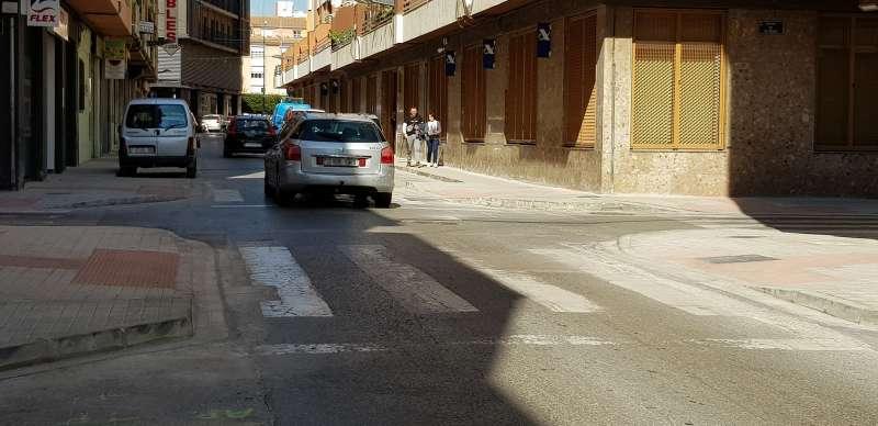 Calle Huertos de Sagunt. EPDA