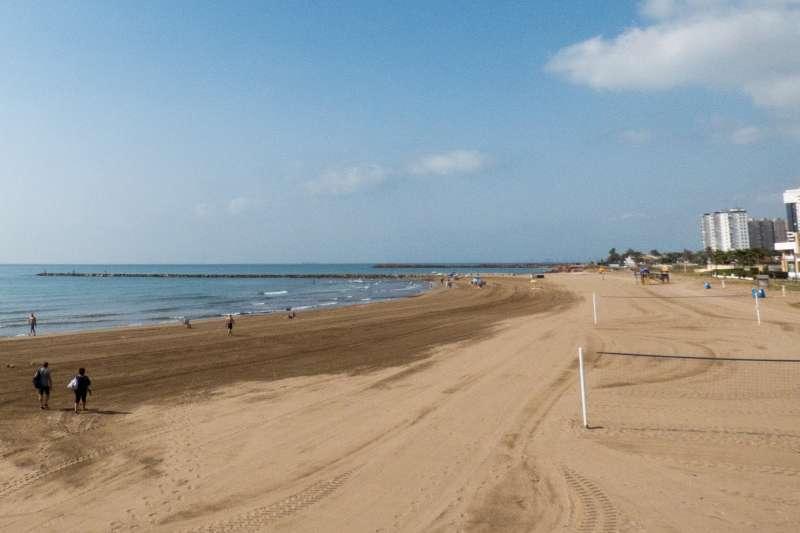Playa de El Puig de Santa María. EPDA