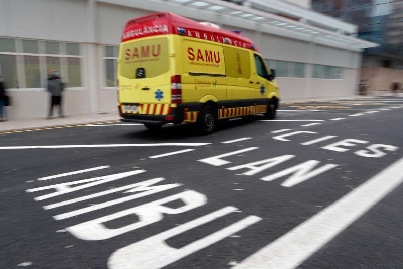 Imagen de archivo de una ambulancia del SAMU. EPDA