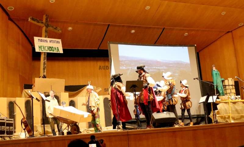 Murga de La Liensa en el Auditorio