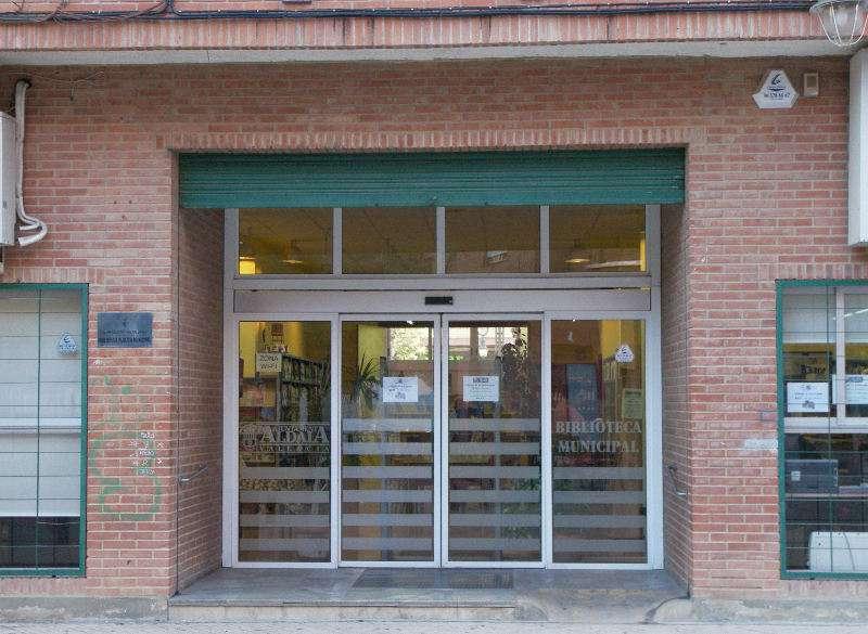 Fachada de la Biblioteca de Aldaia. EPDA