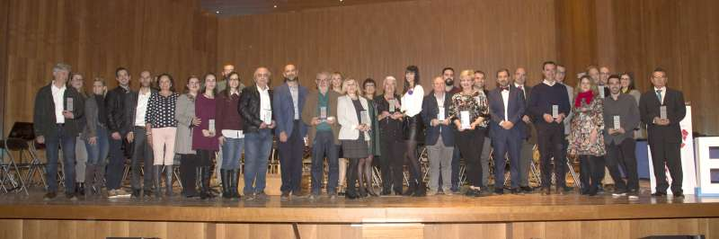 Foto família II Premis Aquí Túria