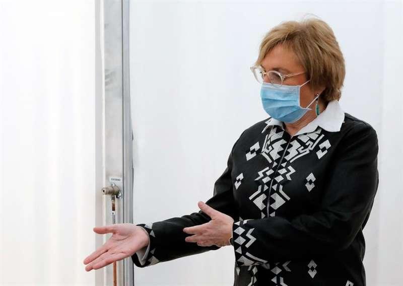 La consellera de Sanidad, Ana Barceló, en una imagen reciente .EFE/Juan Carlos Cárdenas