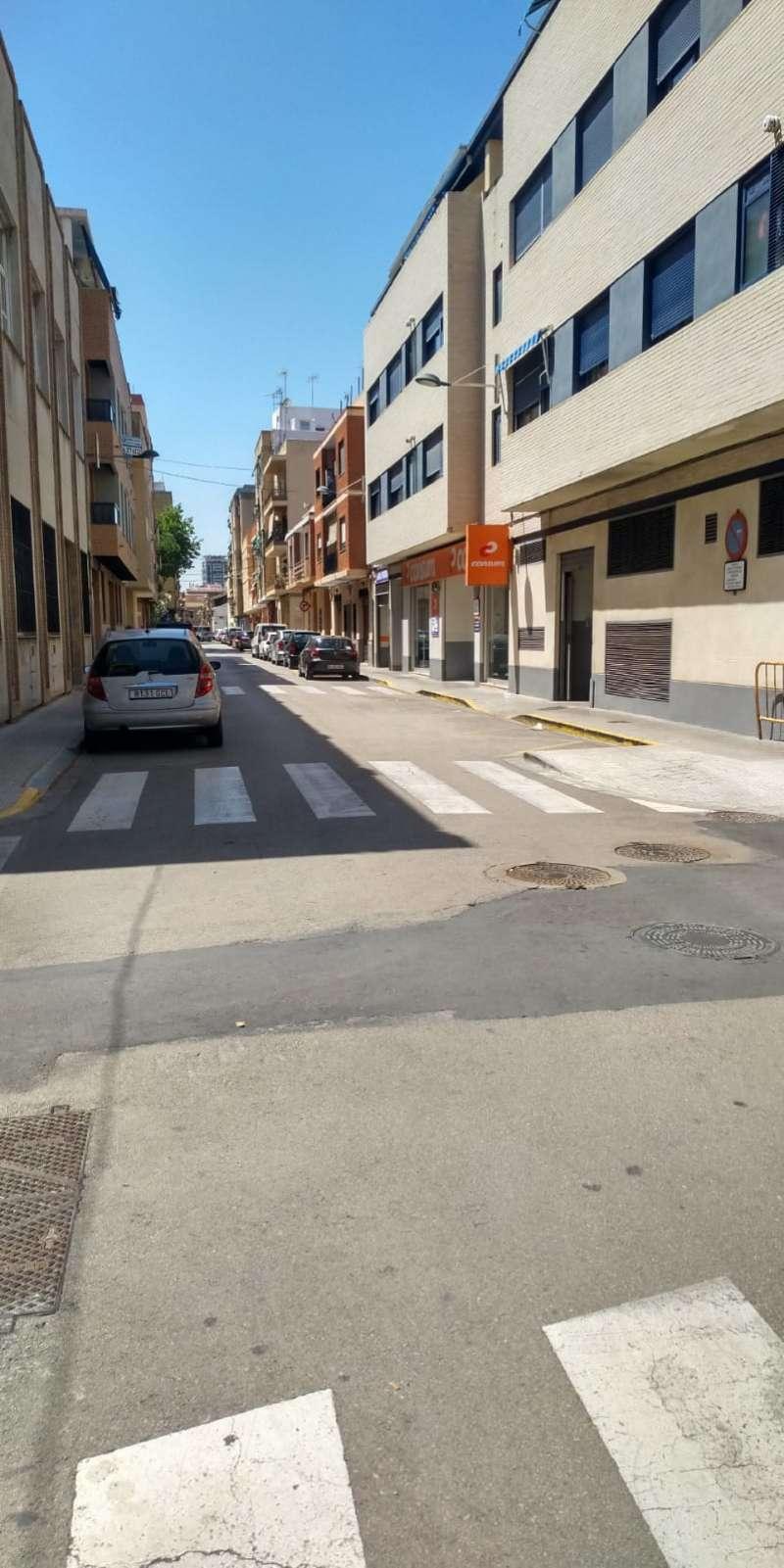 Una calle de Sedaví. EPDA