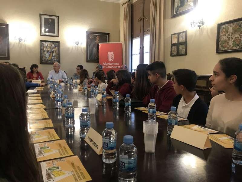 Constitució Ciutat Amiga de la Infància a Carcaixent./EPDA