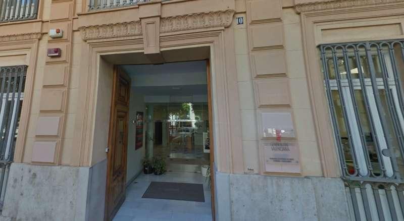 Oficinas de la secretaría de Modelo Económico y Financiación, en València.