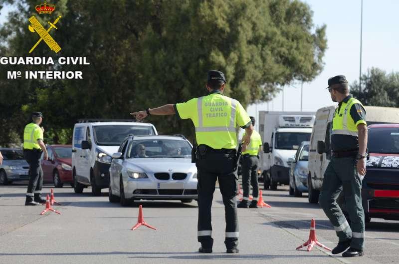 Imagen archivo de un control policial. -EPDA