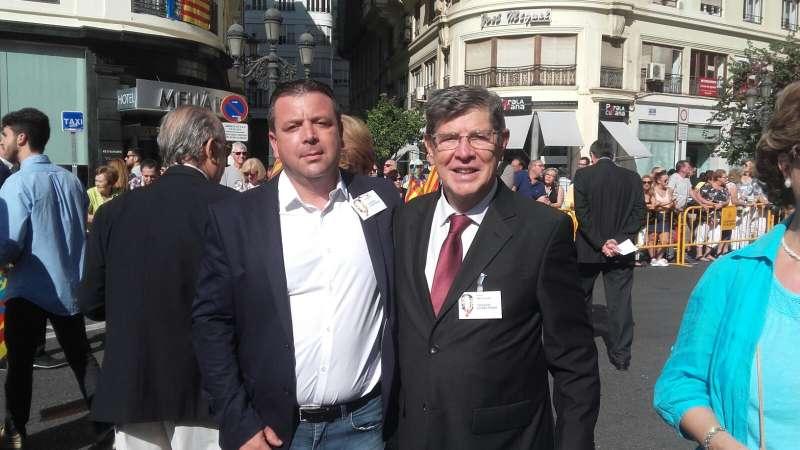 Vicent Iborra y Julio Chanzá. FOTO EPDA