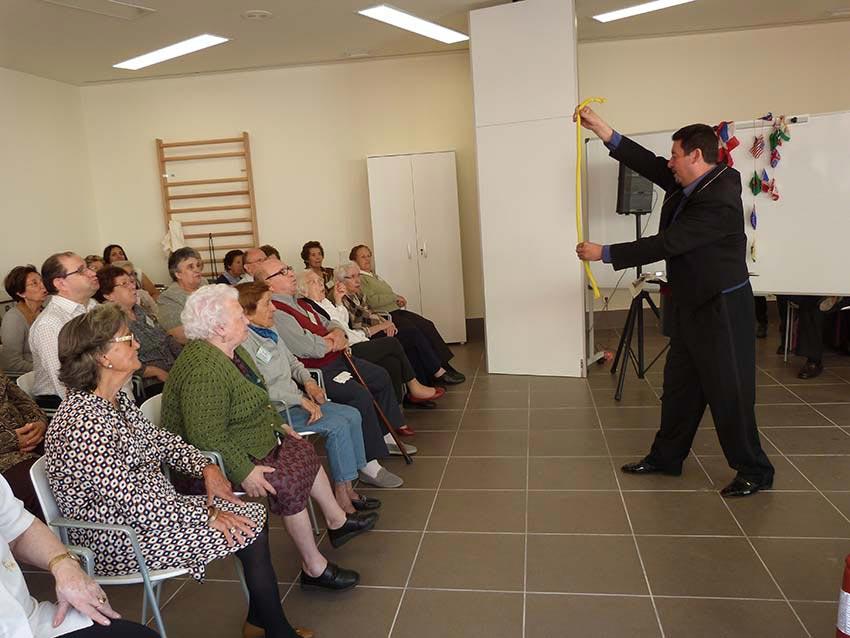 Tacumán, en su intervención. FOTO EPDA