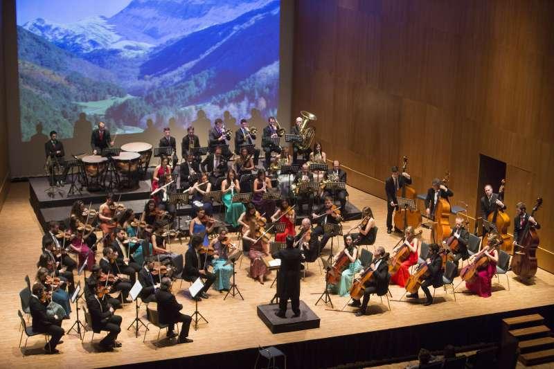 La Orquesta Reino de Aragón. //EPDA