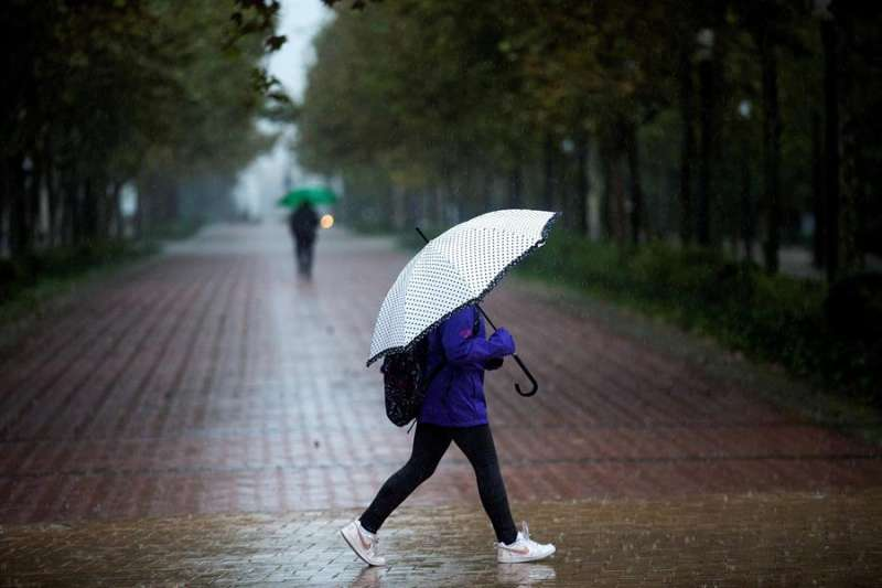 Un día de lluvia en Castellón. EFE/Archivo Domenech Castelló