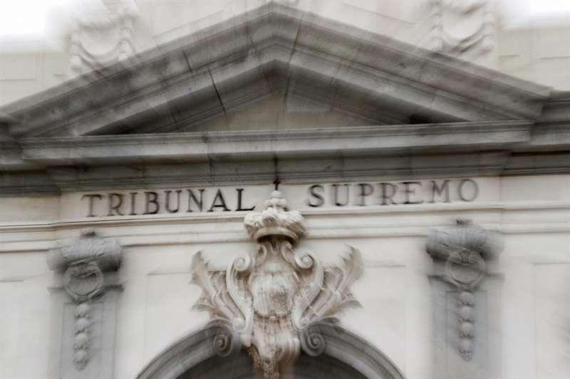Vista general del Tribunal Supremo. EFE/Archivo