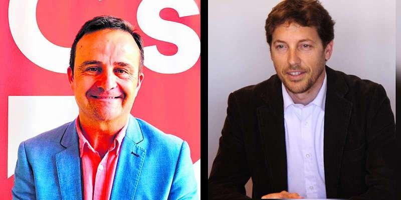Salva Montesinos (izq) y Raúl Castillo (der). EPDA